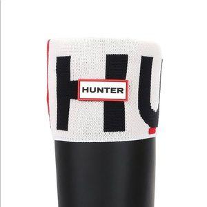Hunter Logo Fold Over Cuff Original Tall Boot Sock